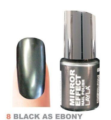 Black as Ebony N°8 - Mirror Effect