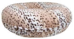Bagel bed snow leopard 60cm