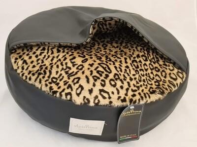 Mellow bed Leopard- Black S1