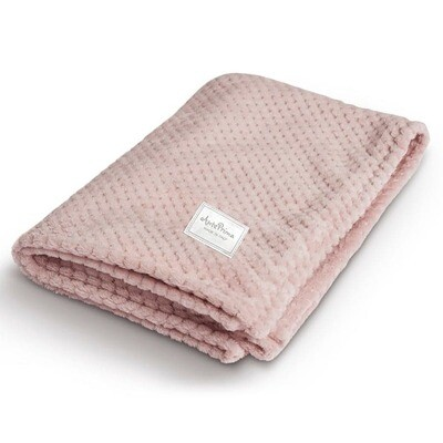 Nina Blanket Pink 50x70