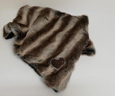 Blanket Falcon 60x85 cm heart