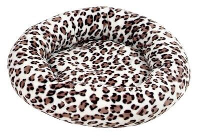 Amelie donut deluxe Leopard bruin- 50 cm