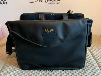 Passengerbag black Rigid Heart