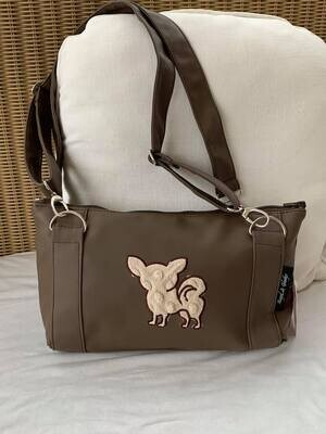Baby Buggy bag Brown with chi beige