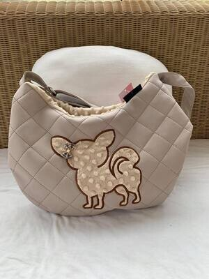 Sac Bandouliera Quilted Beige - Chi burberry