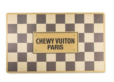 Placemat Chewy vuiton Beige
