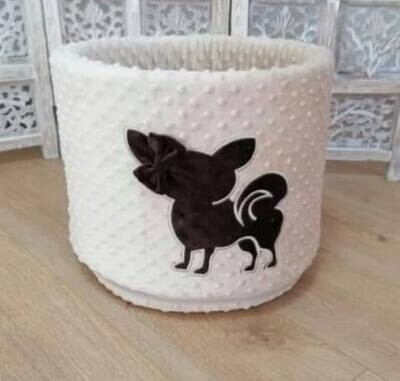 Toybox BG Beige with embroidery chi