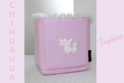 TOYBOX PINK LEATHER CHI