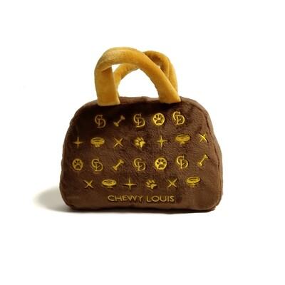 Chewy Louis vuiton handbag toy