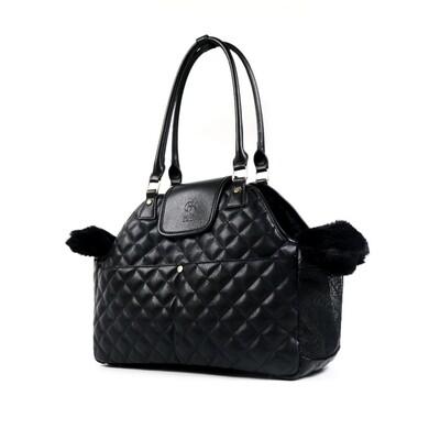 Paris Quilted Bag Black