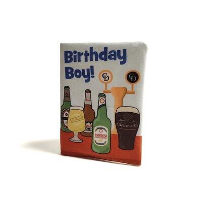 Verjaardagskaart Blauwe Drankjes -HALLBARK