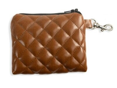 POCHETTE PUPUBAG Quilted Brown