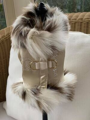 Influence Harness Gold with Ocelot White beige