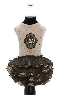 Army Beige Dress