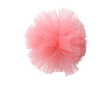 Ponpon Hairclip Pink