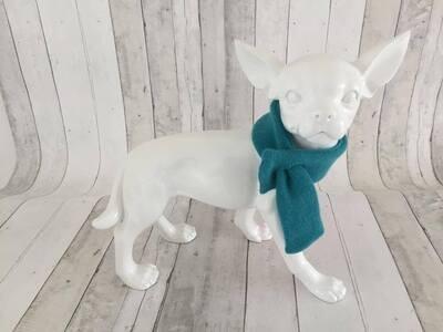 Sjaal scarf charlotte Petroleum Green