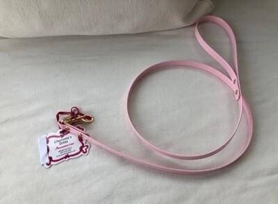 Vania Leash Pink-Gouden sluiting