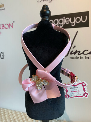 Harness Lovely Bear Baby Pink