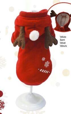 Sweatshirt candy reindeer