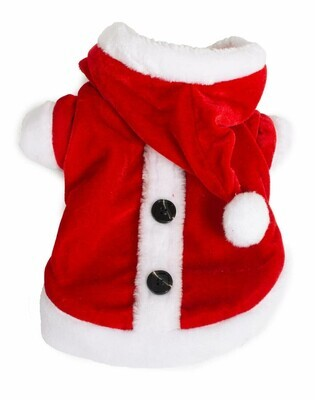 Kerst Hoodie met knopjes