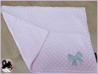 Couverture Glitter Bow Pink