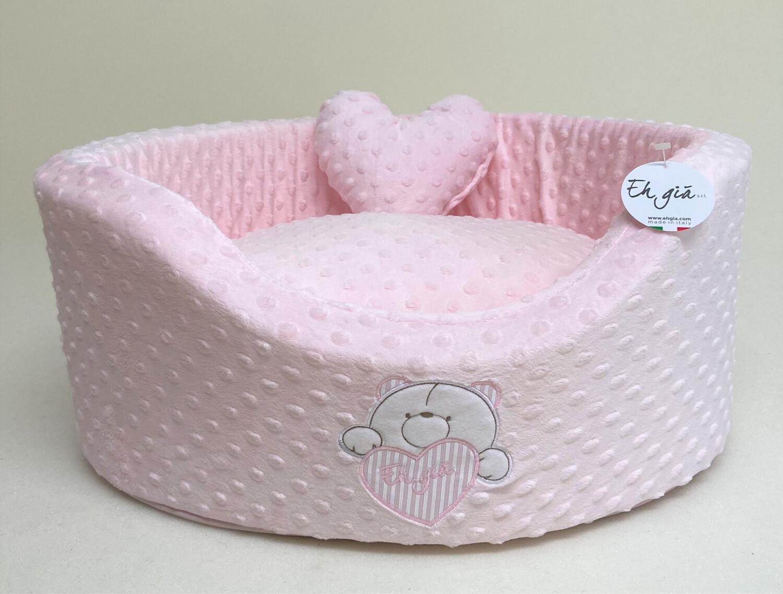Bubble Roze Teddy Bed Size 2