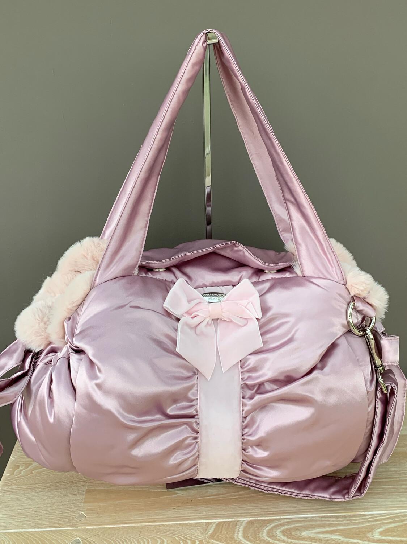 Bag Velvet Pink