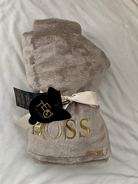 The Boss Blanket 60x85cm