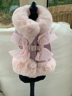 Velvet Harness Pink