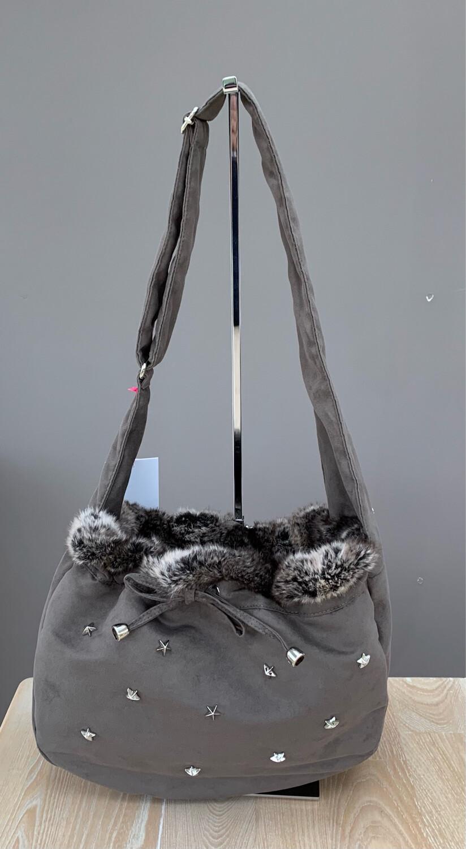 Survivor shoulderbag Taupe x Chincilla brown