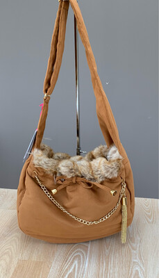 Untitled Shoulderbag Cognac with opal