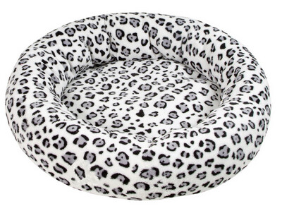 Amelie deluxe donutmand- Leopard white 50 cm