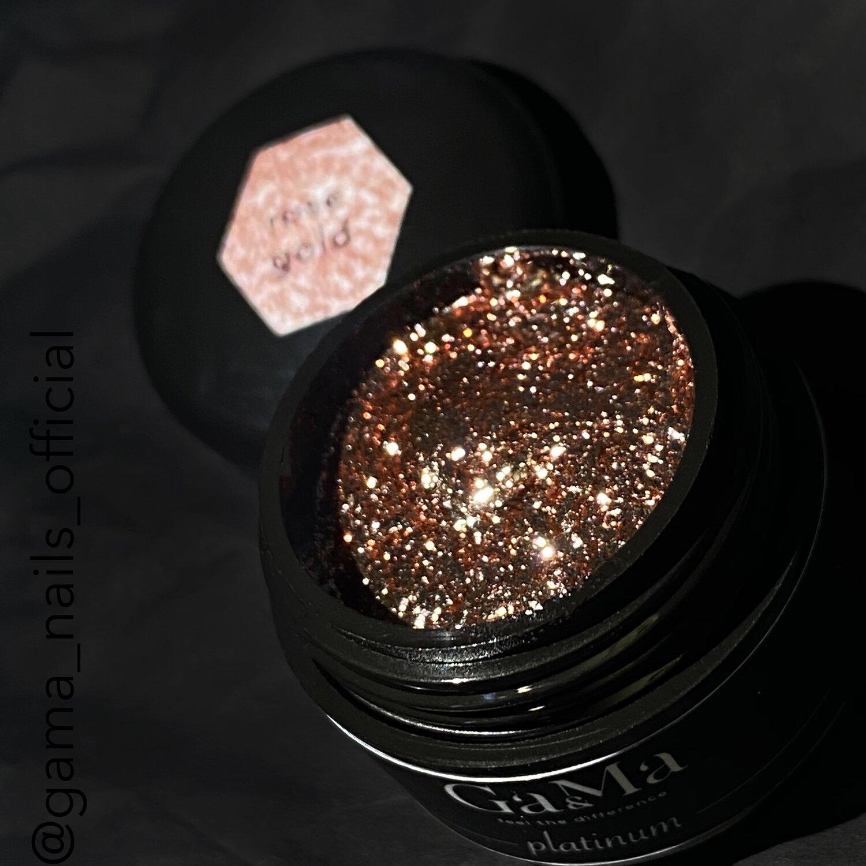 Platinum Rose gold / Платінум рожеве золото