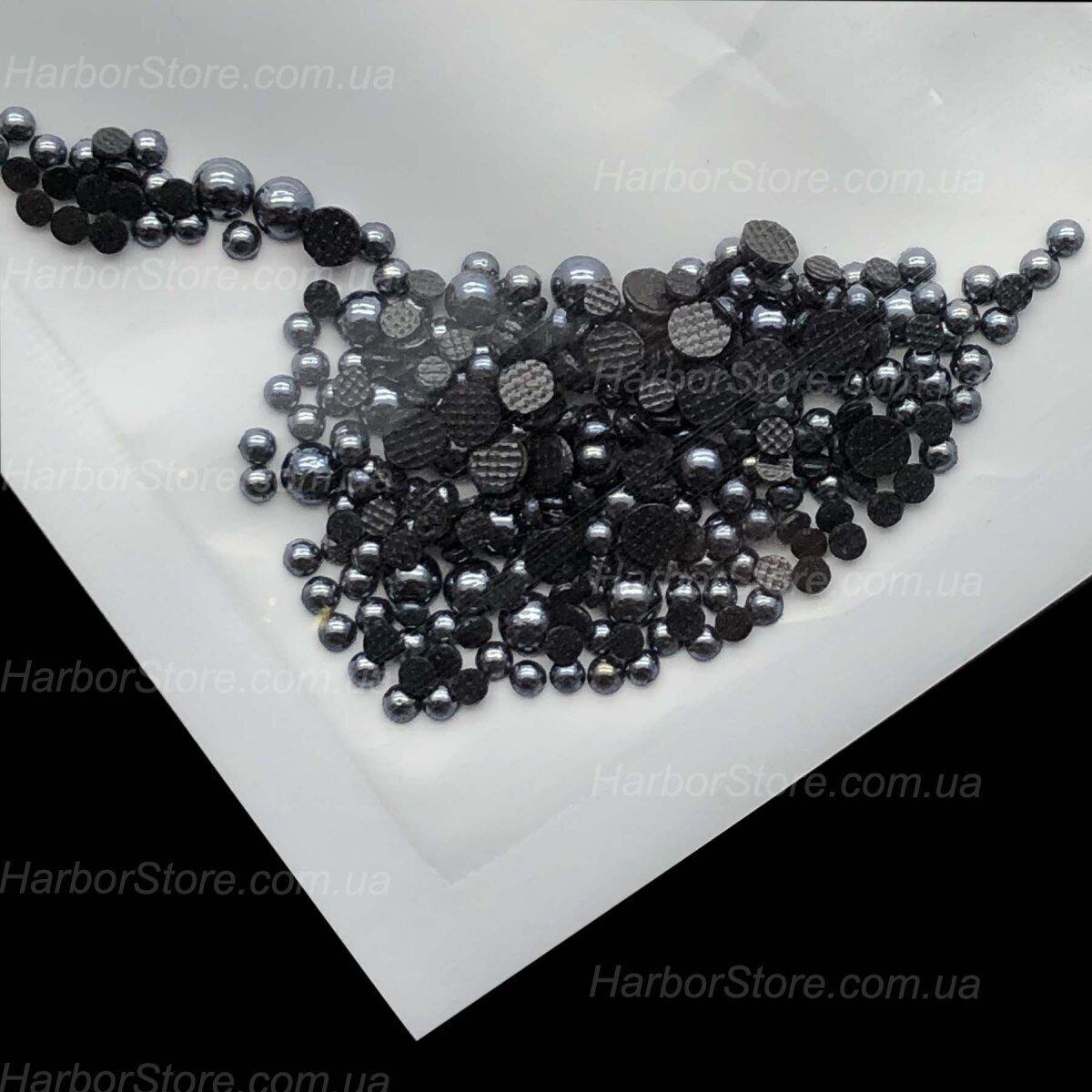 Жемчуг черный (Цвет не стирается)