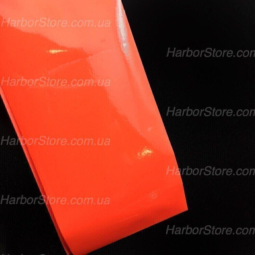 Фольга для литья матовая красная, 30 см
