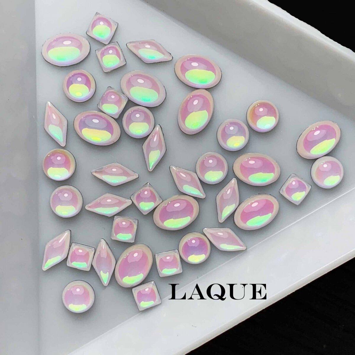MIX крупных камней - PINK OPAL (не теряют цвет)