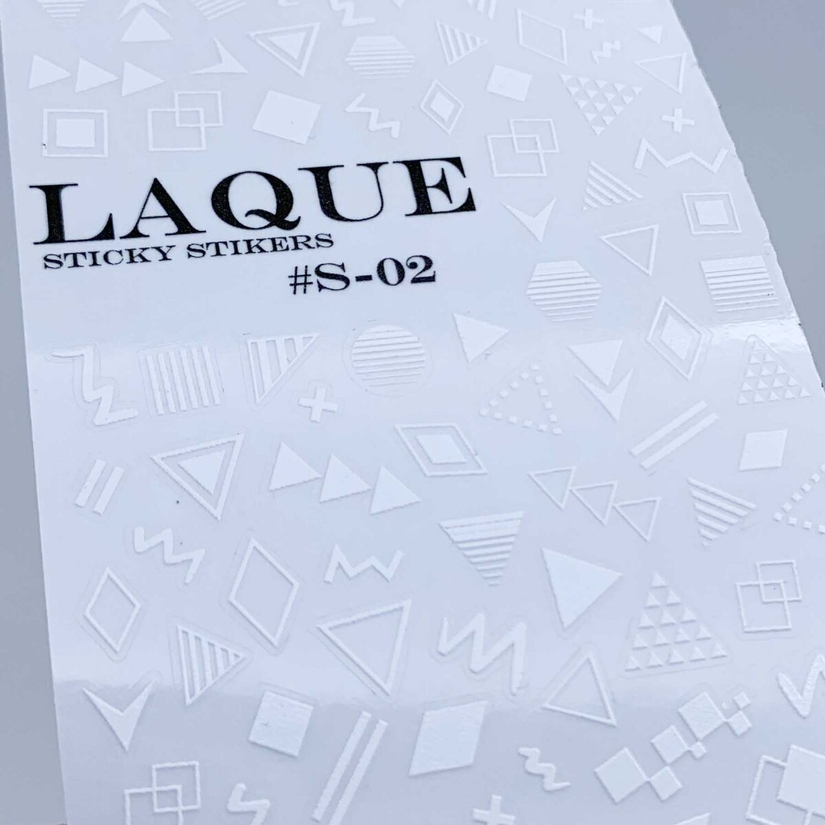 Laque s-02 white