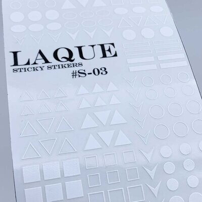 Laque s-03 white