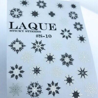 Laque S-10 BLACK & SILVER