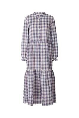 Natalia Dress Check Print