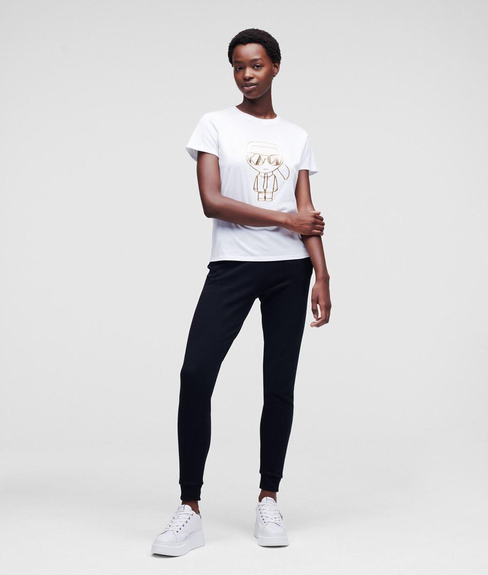 Ikonik Art Deco T-shirt White