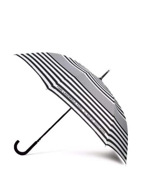 Karl Essential Umbrella Black/White
