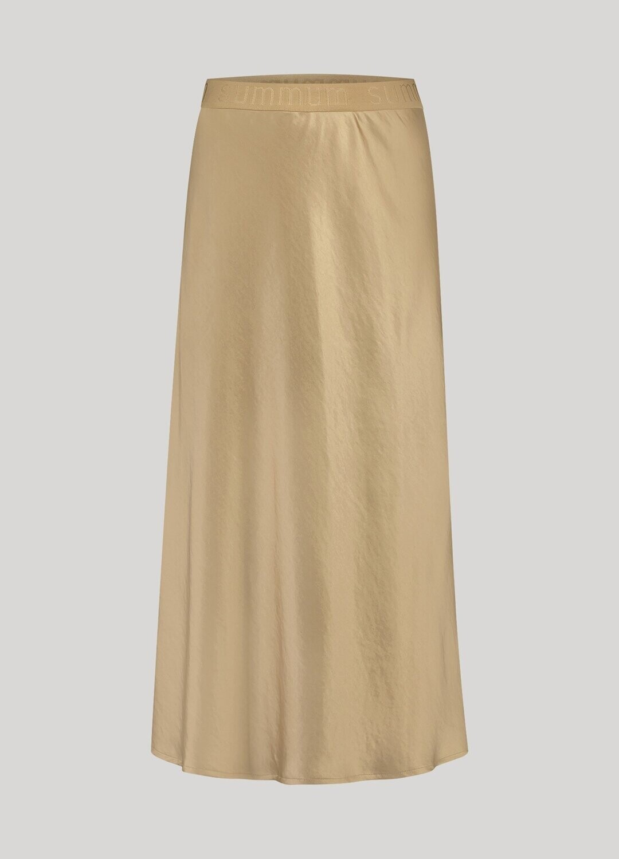 Summum Satin Skirt Alpaca