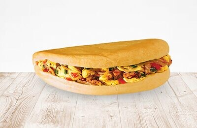 Ackee & Saltfish Sandwich