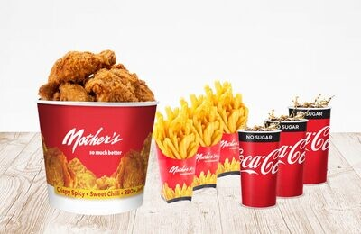 6pc Chicken Meal