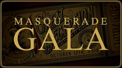 SOLD OUT - Ticket to The Masquerade Gala - October 11, 2019