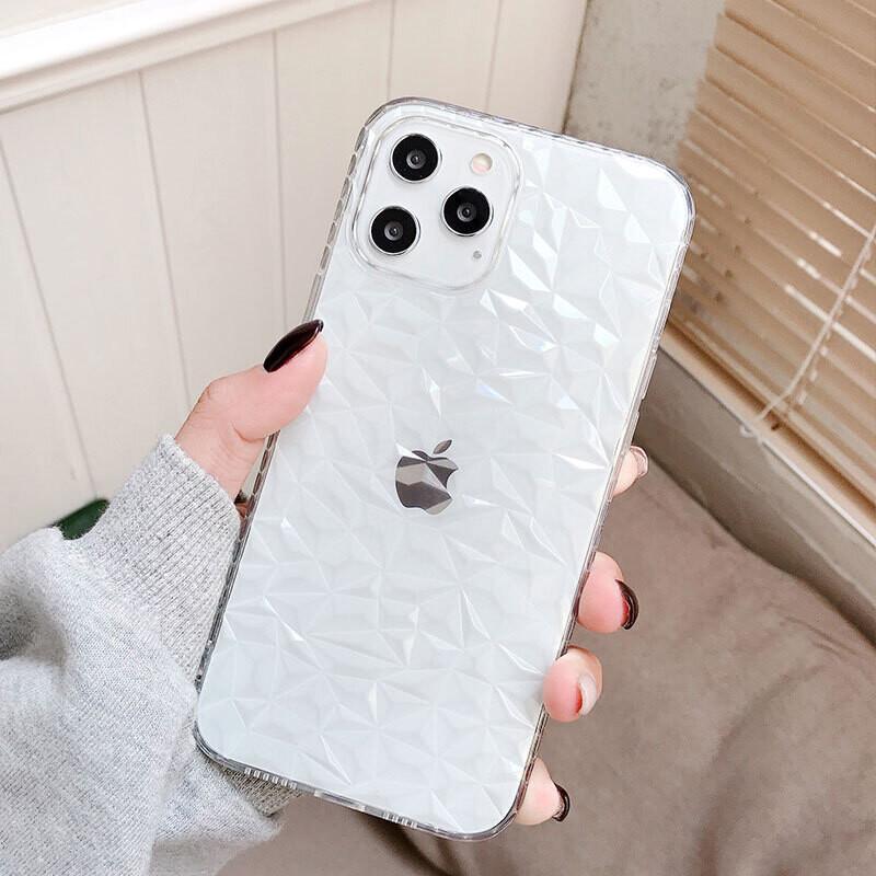 Coque souple 3D pour iPhone (12, 11, SE, X, XR, XS, 8, 7)