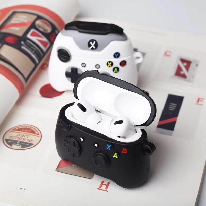 Coque pour AirPods 1 et 2 et AirPods Pro en forme de manette Xbox