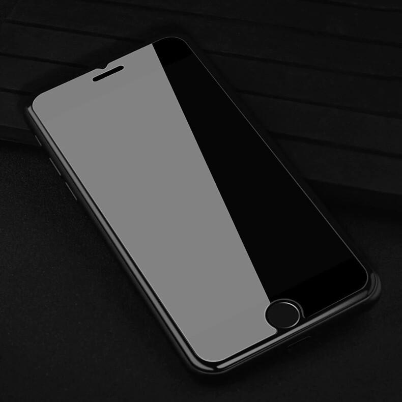 Haute protection en verre trempé pour écran d'iPhone (indice 9H / 99% de transparence) à prix discount