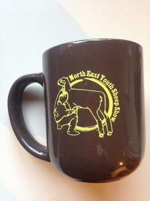2014 Brown Ceramic NEYSS Mug